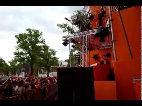 Backstage by Julian Jordan 'Crackin' (Martin Garrix Edit) live at Citymoves in Leiden (26-04-2014)