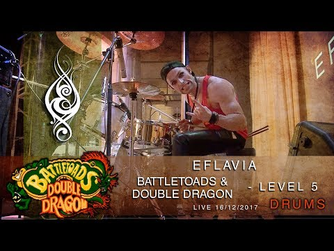 Battletoads & Double Dragon - level 5 (live cover by Eflavia. Drums)