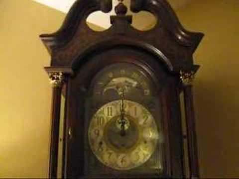 Ridgeway Grandfather Clock Built 1981 St Michael S Chime