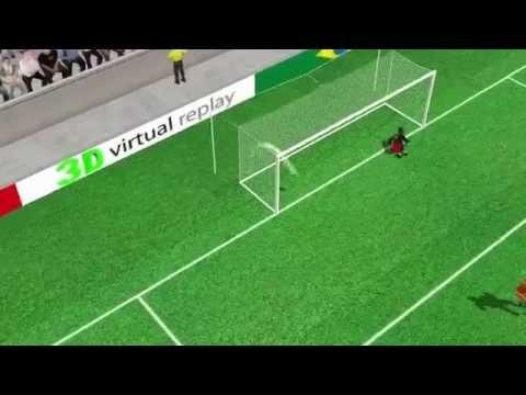 Klaas-Jan Huntelaar Penalty Goal Netherlands vs Mexico 2-1 World Cup 2014 FULL