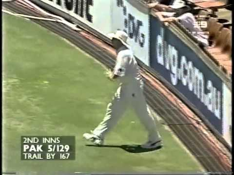 Ijaz Ahmed 115 vs Australia 3rd test WACA 1999