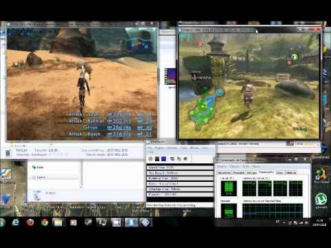 PS2 + GameCube Emulados juntos e misturados