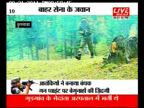 Indian Army Fighting the Terrorists in Kashmir I