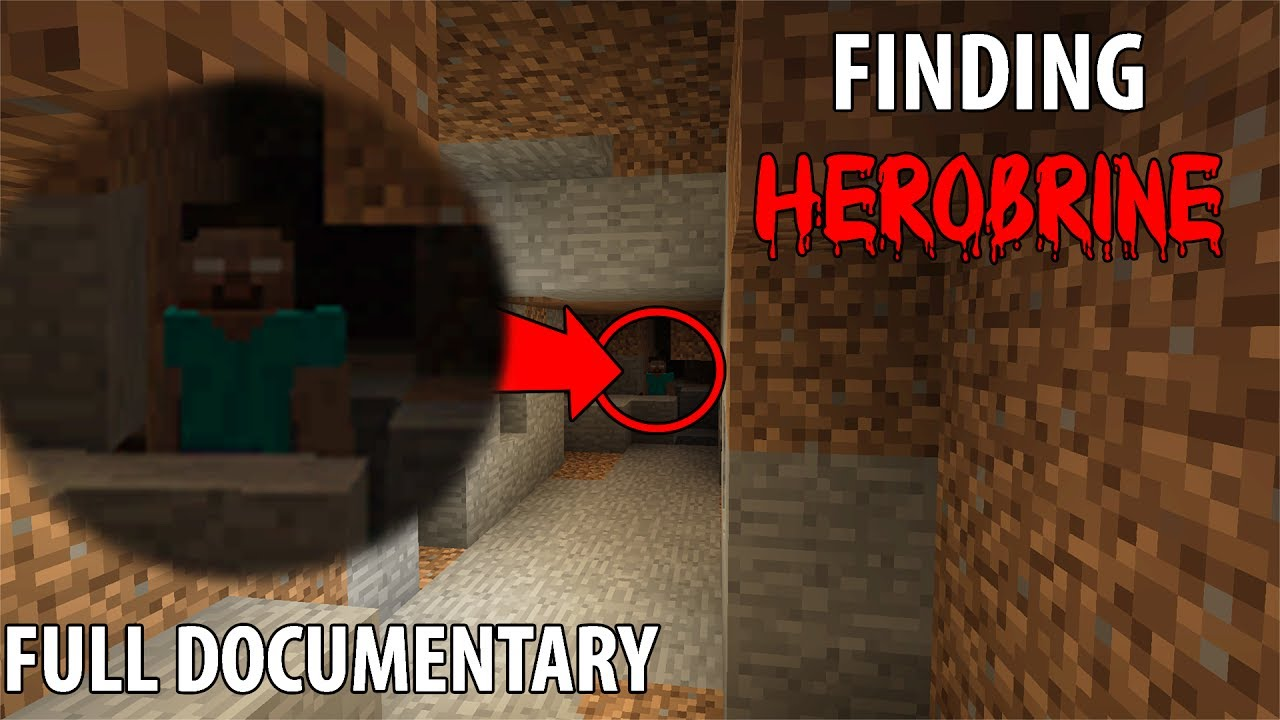 Finding Herobrine in Minecraft (Full Documentary) - 5 SIGHTINGS