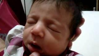 newborn baby talking ...