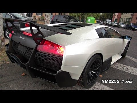 Lamborghini Murciélago LP670 SV Start Up & Revs