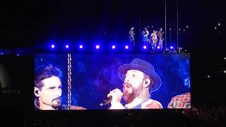 Backstreet Boys DNA Antwerpen 22-05-19 (21) I'll Never Break Your Heart!