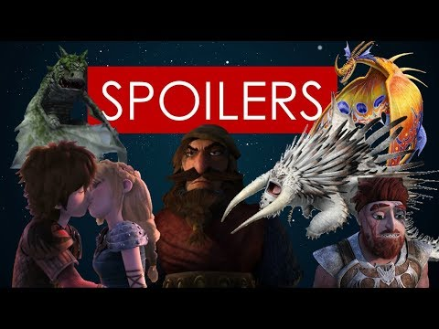 SPOILERS Season 5 Race to the Edge Review [new villains. new dragons]