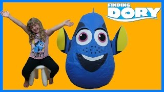 Finding Dory Movie Super Giant Surprise Egg | Surprise Toys with Nemo and friends