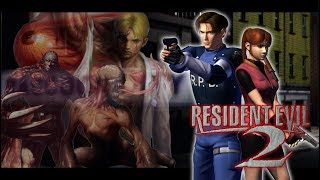 Resident Evil 2 - Claire B - Game Cube