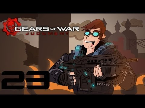 Gears of Prequel - Gears of War Judgment Campaign Gameplay / Walkthrough w/ SSoHPKC Part 23 - FINALE