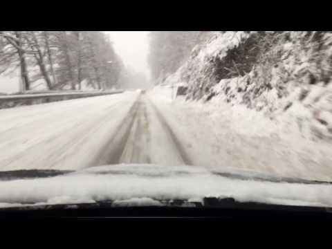 BMW X6 xDrive40d Snow Run Day & Night Dashcam View