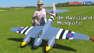 Super Scale RC DE HAVILLAND MOSQUITO British WW2 twin-engine multi-role combat BOMBER