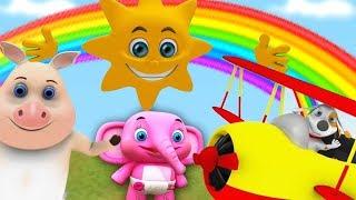 Ông. mặt trời | nhac thieu nhi hay nhất | ca nhac thieu nhi | Mr. Sun Kids Song | Little Treehouse