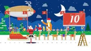 Santa Tracker 2013 Village Reel