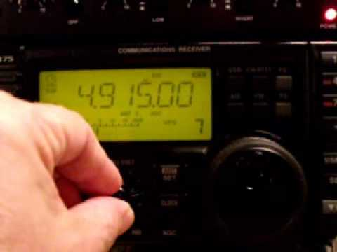 Difusora de Macap with ICOM IC-R75