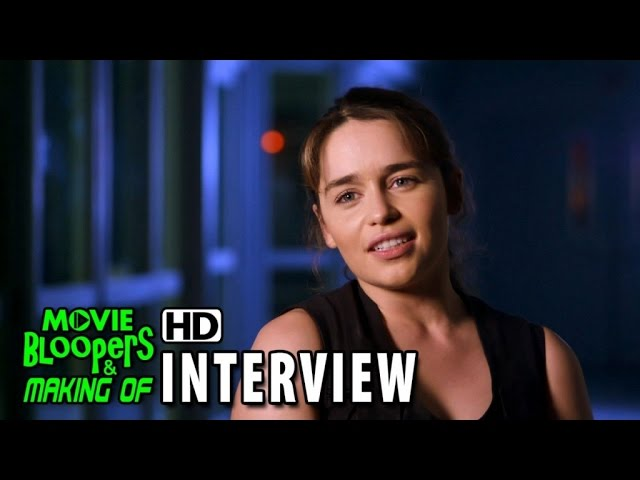 Terminator Genisys (2015) Behind the Scenes Movie Interview - Emilia Clarke is 'Sarah Connor'