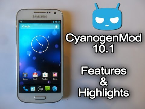 CyanogenMod 10.1 (Android 4.2.2) - Features and Highlights
