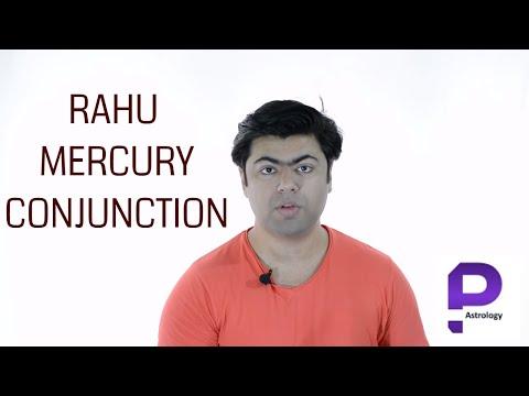Rahu Mercury conjunction in Vedic Astrology by Punneit