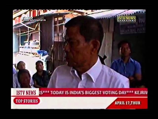 17th.April 2014 ISTV Manipuri news