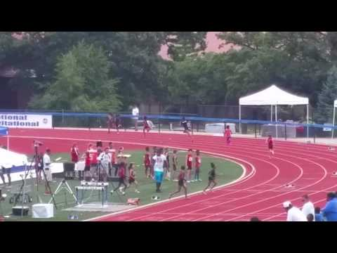 ALN Track Stars Delores Biddings 10 year old 400 Meter Northern National Champion!!