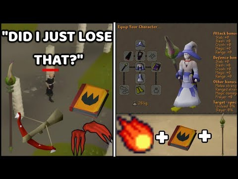 Fire Surge Pure Pking and Died for Bank in Wildy - Runescape Moments