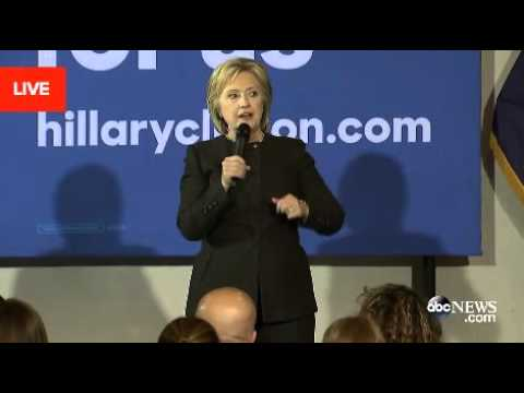 Clinton Dodges Question About Oil & Gas Industry Donations*
