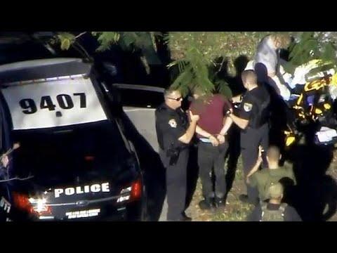 هفده کشته در تیراندازی فلوریدا؛ مهاجم جوان دستگیر شد