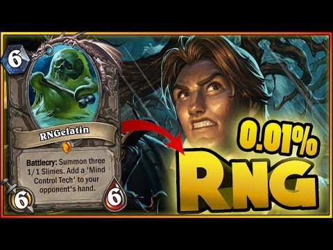 0.01% RNG & WTF Moments - Hearthstone Funny Rng Moments