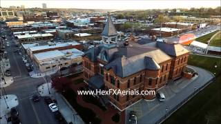 Webster House  Kansas City hex fx aerials