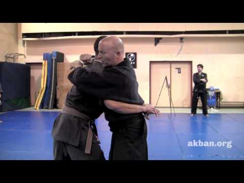 Awesome Short chain grappling techniques -  AKBAN Ninjutsu moves Image 1