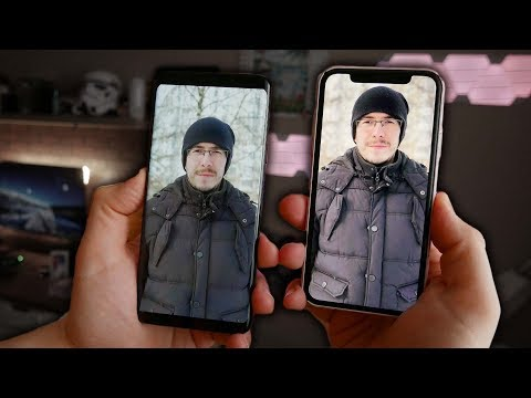 Galaxy S9+ против iPhone X - Сравнение камеры