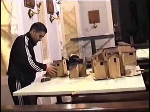 TREBISACCE 09/12/2008 PRESENTAZIONE DEL PRESEPE ARTISTICO DI SAN NICOLA DI MIRA PARTE 1.