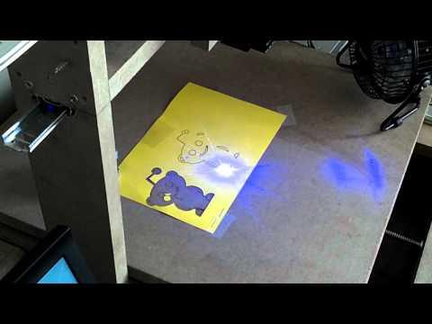 Homemade cnc laser cutter
