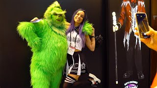 Grinch Costume at Halloween and Party Expo 2020 | Funny Costumes!