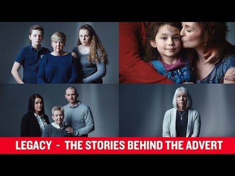 Legacy | The stories behind the advert