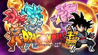 Goku VS Goku Black - Sprite Animation