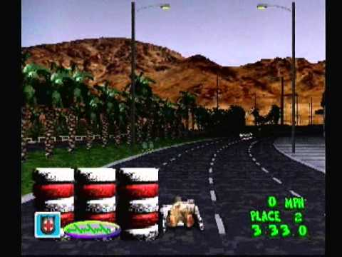 2 Xtreme (Old PS1 Downhill Skate Game)