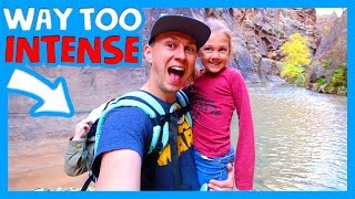 🌄 FAMILY FRIENDLY HIKES IN ZION NATIONAL PARK 🏞 First Junior Ranger Program 👨‍👩‍👧‍👧