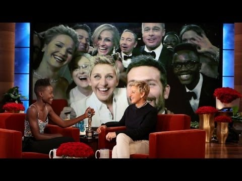 Lupita starred in the Oscar-winning Best Picture, and her brother made his way into the best picture from the Oscars!