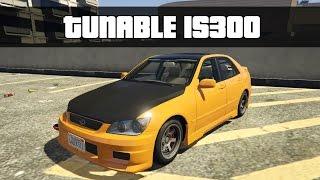TUNABLE LEXUS IS300 (GTA 5 Mod)