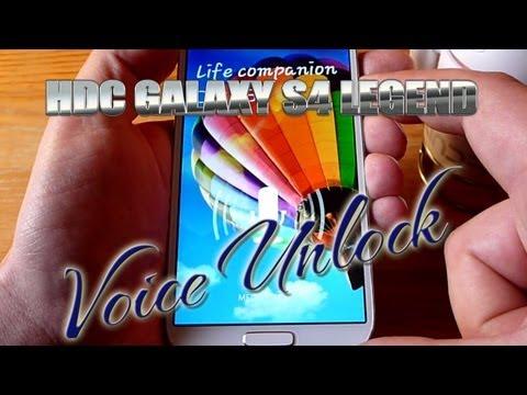 HDC Galaxy S4 Legend Voice Unlock Test - Gesture Control -- Best Samsung S5 Clone?  ColonelZap