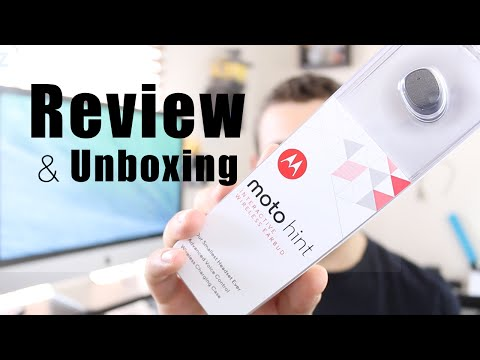 Moto Hint Unboxing & Review - The Best Bluetooth?