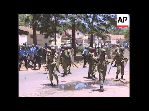 KENYA: NAIROBI: TENSION REMAINS HIGH AFTER DEATH OF STUDENT LEADER