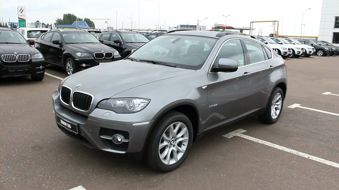 2012 Bmw X6 Start Up Engine And In Depth Tour Youtube
