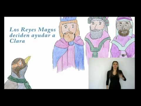 """Cuento """"Los cascos de Clara"""" en Lengua de Signos"""