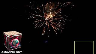 Amazing Sky - China Red - vuurwerk met inhoud