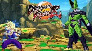 DRAGON BALL FighterZ - High level Gameplay #1 @ 1080p (60ᶠᵖˢ) HD ✔