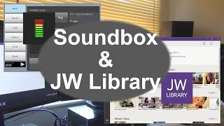 Using Soundbox & JW Library together