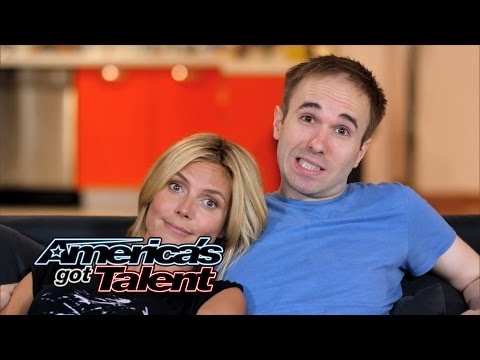 Heidi Klum and Taylor Williamson Go On a Date - America's Got Talent 2014